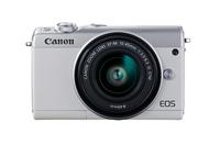 Canon EOS M100, Digitalkamera, 3 Zoll LCD, 24.2 MP, 6000 x 4000 Pixel, SD-SDHC-SDXC, Schwarz