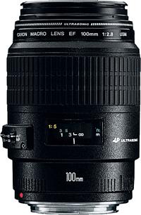 Canon EF 100mm f / 2.8 Macro USM