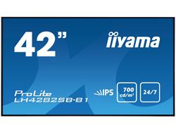 LH4282SB-B1 106.5CM 42IN IPS 106.68 cm (42 &quot ) , Full HD, 700 cd/m², 178°, 947x71x541mm, 15.3kg, Black  NMS