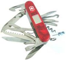 Victorinox Taschenmesser Traveller Lite, 27 Funktionen: Altimeter, Barometer, Thermometer