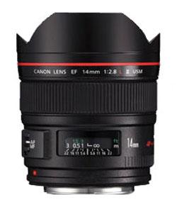 Canon Festbrennweite Objektiv EF 14mm f / 2.8L II USM